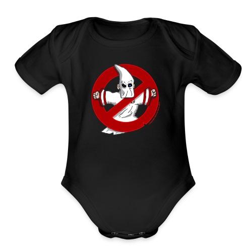 HOODBUSTERS! - Organic Short Sleeve Baby Bodysuit