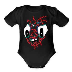 MR HOT BOX - Short Sleeve Baby Bodysuit