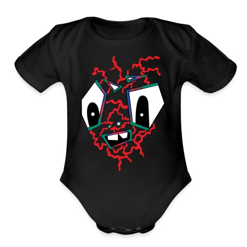 MR HOT BOX - Organic Short Sleeve Baby Bodysuit