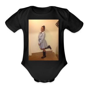 cool for evryoney - Short Sleeve Baby Bodysuit