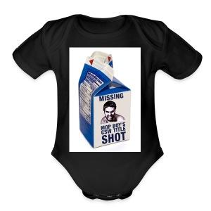 Missing CSW Title shot - Short Sleeve Baby Bodysuit