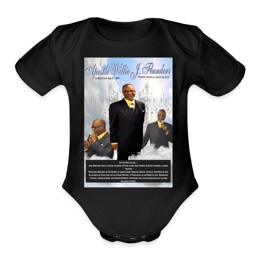 Apostle Flanders Designs - Organic Short Sleeve Baby Bodysuit