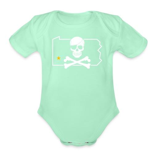 Bones PA - Organic Short Sleeve Baby Bodysuit
