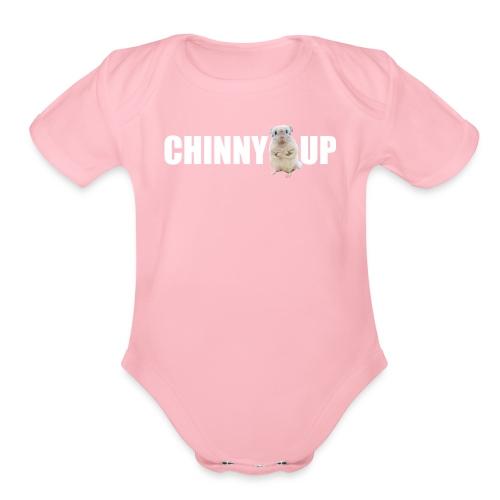 chinnyup - Organic Short Sleeve Baby Bodysuit