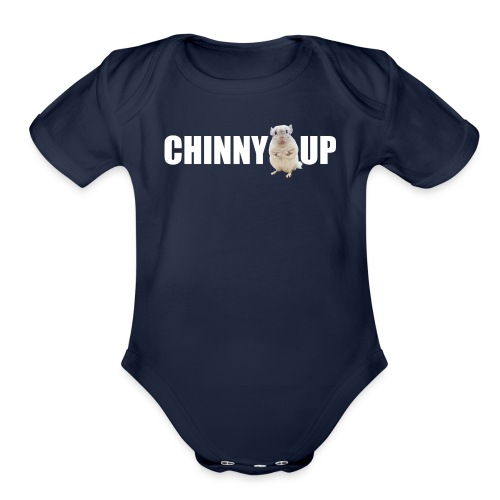 chinnyup - Organic Short Sleeve Baby Bodysuit