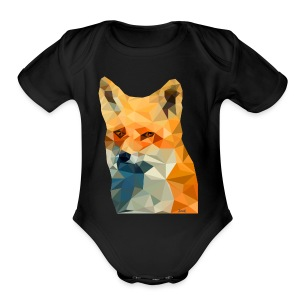 Jonk - Fox - Short Sleeve Baby Bodysuit