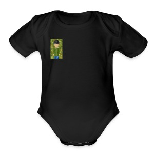 CamoFlauge - Short Sleeve Baby Bodysuit