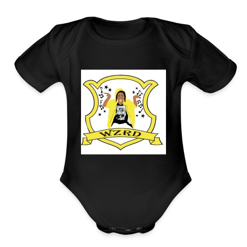 WZRD choo Hogwart - Organic Short Sleeve Baby Bodysuit