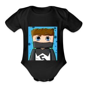 MY YT CHANNEL LOGO SHIRT - Short Sleeve Baby Bodysuit