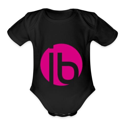 logo_isabelleBrunet - Organic Short Sleeve Baby Bodysuit