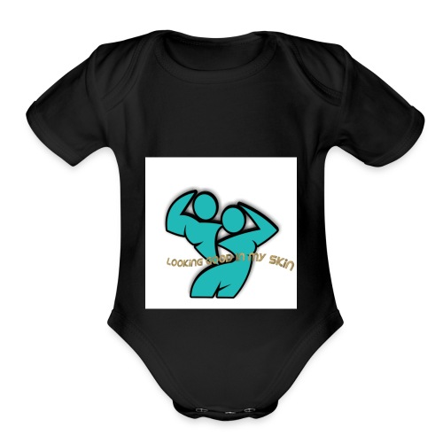 Looking Good in My Skin - Organic Short Sleeve Baby Bodysuit