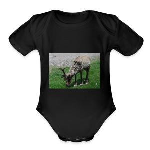 Dear - Short Sleeve Baby Bodysuit