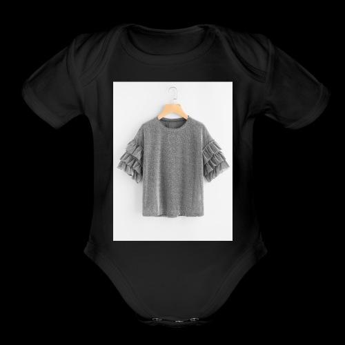 Plain dress shirt - Organic Short Sleeve Baby Bodysuit