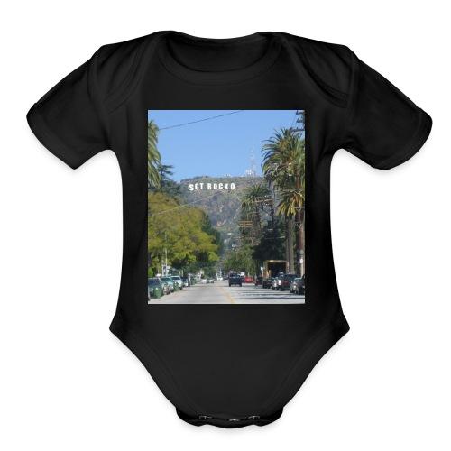 RockoWood Sign - Organic Short Sleeve Baby Bodysuit