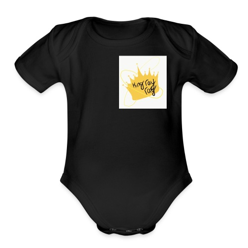 Rashonn Hall - Organic Short Sleeve Baby Bodysuit