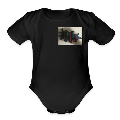 472619CC 1EBC 4CBD A35F B0BC3839B7E6 - Organic Short Sleeve Baby Bodysuit