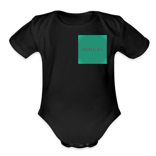 Cool Torta - Organic Short Sleeve Baby Bodysuit