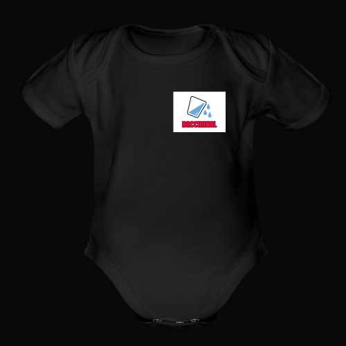 Bacchanal & Water - Organic Short Sleeve Baby Bodysuit
