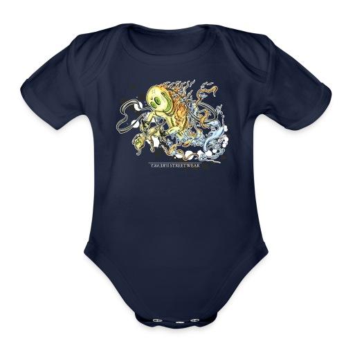 Tattoofreak - Organic Short Sleeve Baby Bodysuit