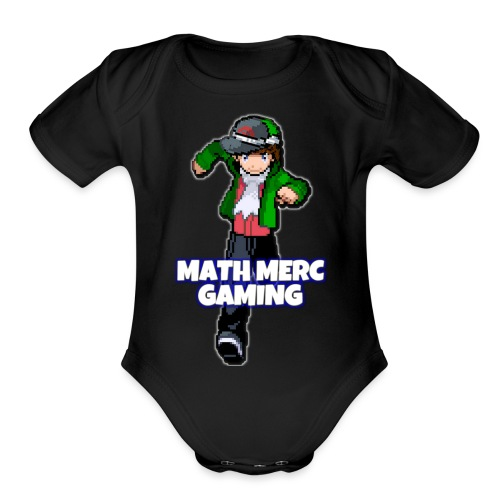 Math Merc Gaming - Organic Short Sleeve Baby Bodysuit