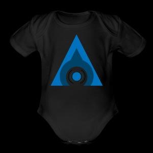 Audical Logo! - Short Sleeve Baby Bodysuit