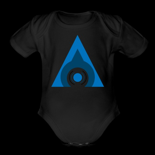 Audical Logo! - Organic Short Sleeve Baby Bodysuit
