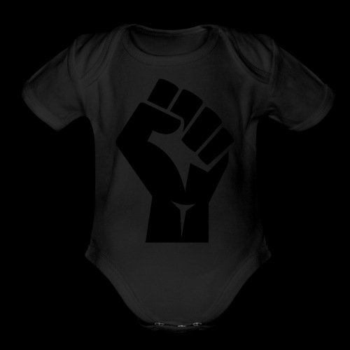 Iron Fist - Organic Short Sleeve Baby Bodysuit