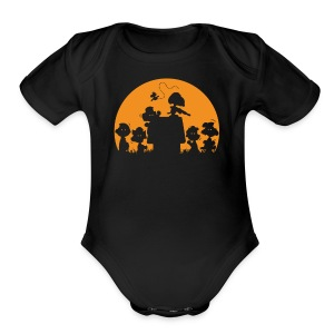 You re A Zombie Chuck - Short Sleeve Baby Bodysuit