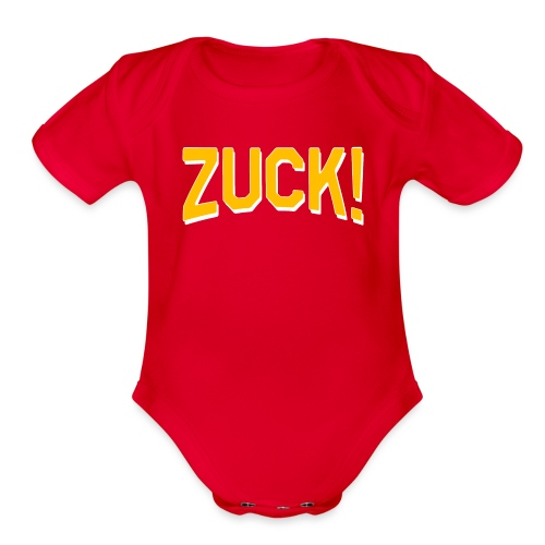 ZUCK! - Organic Short Sleeve Baby Bodysuit