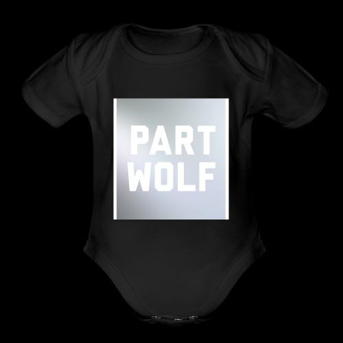 Part Wolf - Organic Short Sleeve Baby Bodysuit