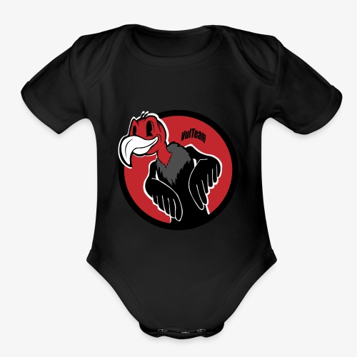 Cartoon VT - Organic Short Sleeve Baby Bodysuit