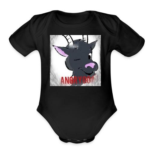 RamFamStore YT - Organic Short Sleeve Baby Bodysuit