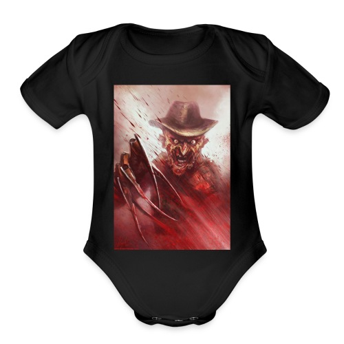 Freddy - Organic Short Sleeve Baby Bodysuit