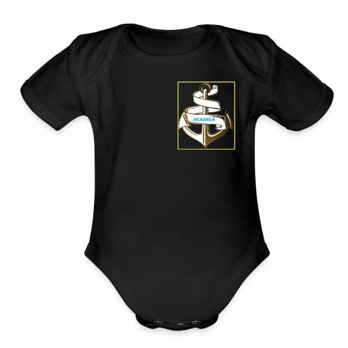 DeadSea - Organic Short Sleeve Baby Bodysuit