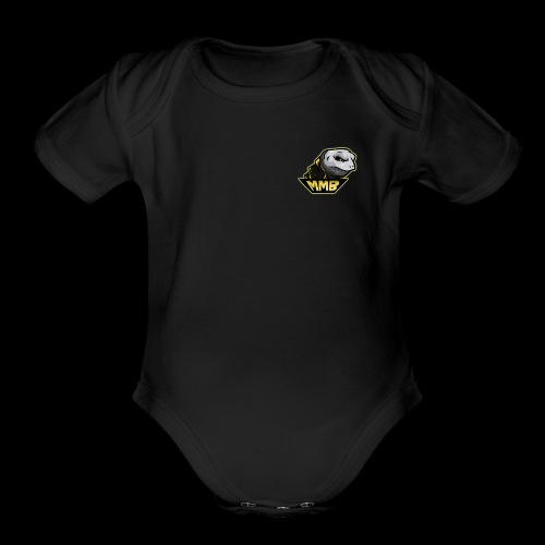 MMB Fire Zombie Turtle! - Organic Short Sleeve Baby Bodysuit