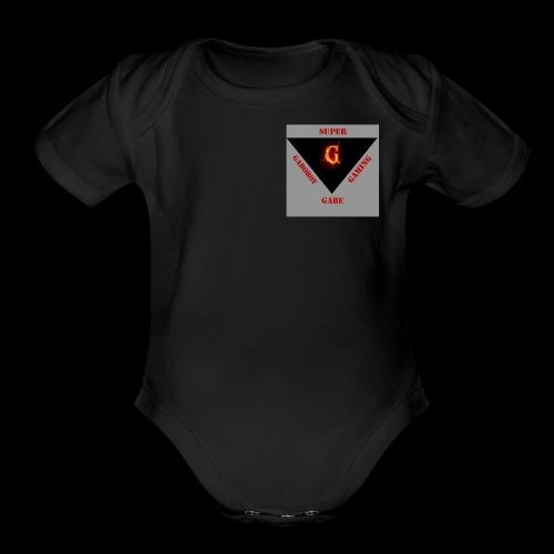 SG MERCH - Organic Short Sleeve Baby Bodysuit