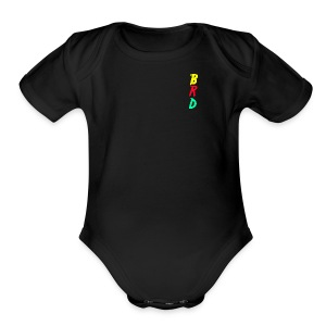 BRD Original Colorful - Short Sleeve Baby Bodysuit