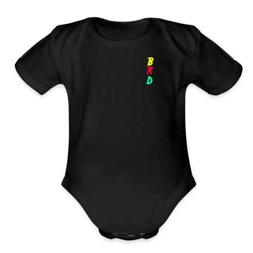 BRD Original Colorful - Organic Short Sleeve Baby Bodysuit