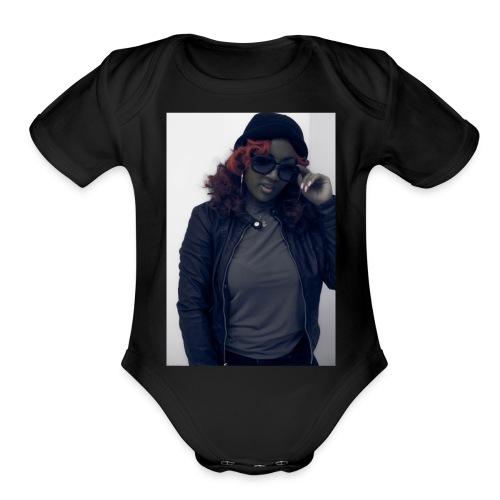 Savage Bitch - Organic Short Sleeve Baby Bodysuit