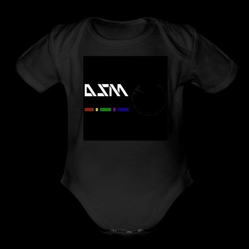 DualSpeedMusic - Organic Short Sleeve Baby Bodysuit
