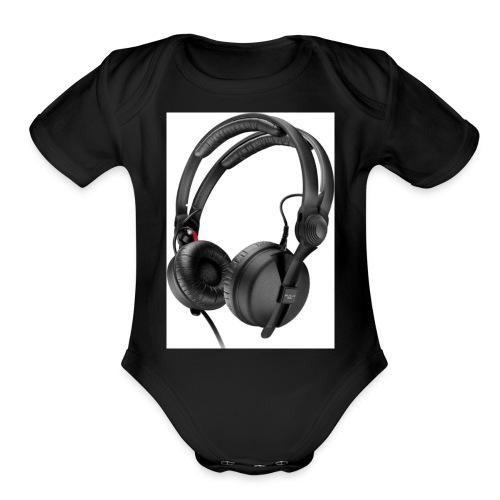 DJz UndergrounD SEHD25MKII - Organic Short Sleeve Baby Bodysuit