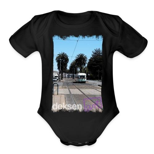 San Francisco Part 7 - Organic Short Sleeve Baby Bodysuit