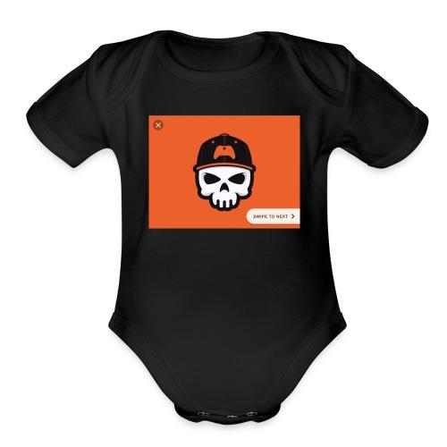 Bronson B gaming - Organic Short Sleeve Baby Bodysuit
