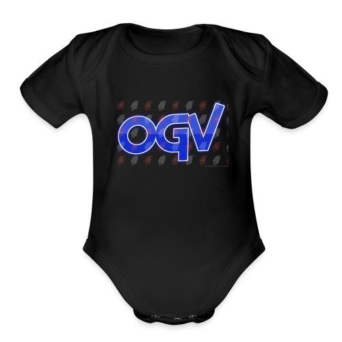 oliviagamervlogger=ogv - Organic Short Sleeve Baby Bodysuit