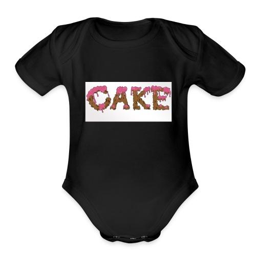 CAKE - Organic Short Sleeve Baby Bodysuit