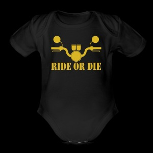 RIDE OR DIE - Short Sleeve Baby Bodysuit