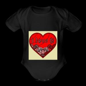 DE1E64A8 C967 4E5E 8036 9769DB23ADDC - Short Sleeve Baby Bodysuit