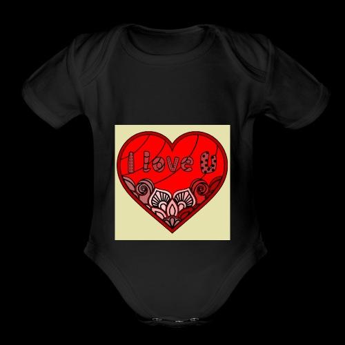 DE1E64A8 C967 4E5E 8036 9769DB23ADDC - Organic Short Sleeve Baby Bodysuit