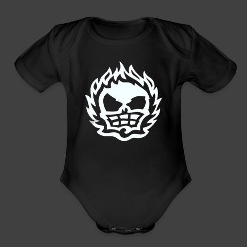 Total Overdose - Organic Short Sleeve Baby Bodysuit