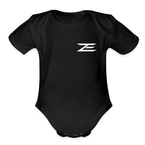Final_ZACH_LOGO - Organic Short Sleeve Baby Bodysuit